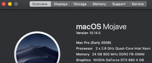 Restoring a Mac Pro 3,1 (2008) - Ars Technica OpenForum